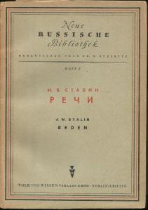 Stalin- Reden