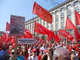 1. Mai in Kiew