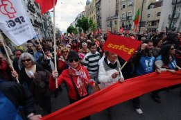 1. Mai in Lissabon