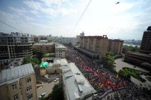 1. Mai in Moskau