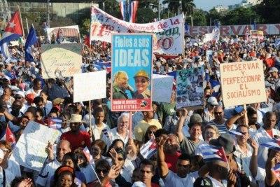 1. Mai in Santigo de Cuba