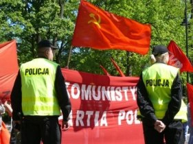 1. Mai in Warschau