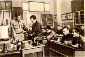 In der 28.Gewerbeschule in Moskau