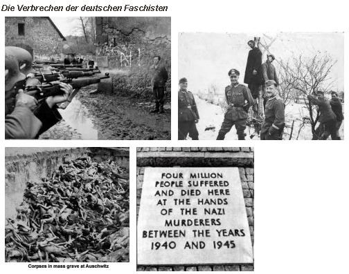 Verbrechen der Faschisten