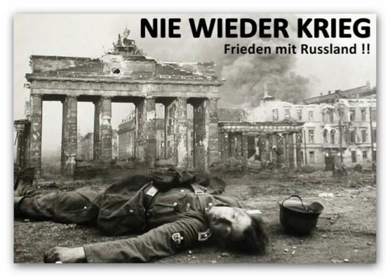 Nie wieder Krieg