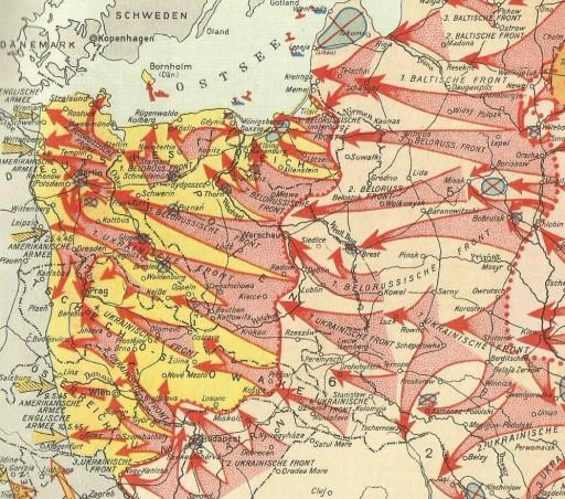 Der siegreiche Vormarsch der Sowjetarmee zur Befreiung vom Faschismus (1941-45)