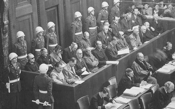 Der Nürnberger Prozeß (14. November 1945 – 1. Oktober 1946)