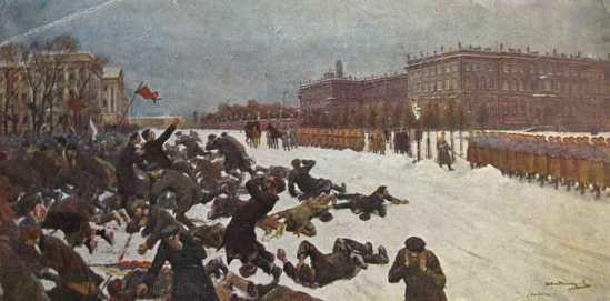 Der Blutsonntag am 9. Januar 1905