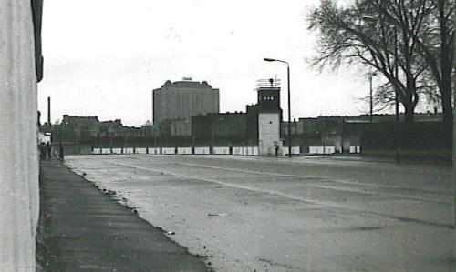 Berlin - Staatsgrenze der DDR