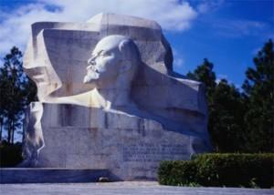 Lenindenkmal in Kuba
