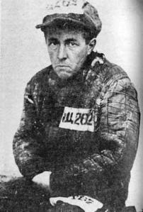 Der Lügner Solzhenizyn in Häftlingspose