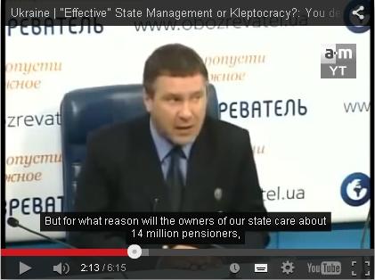 14 Millionen ukrainische Rentner