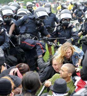 Polzei-Gewalt