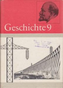 Autorenkollektiv+Geschichte-Klasse-9-Lehrbuch-DDR