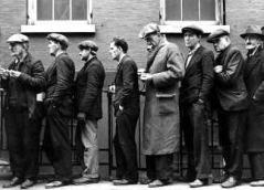 Arbeitslose in den USA (1933)