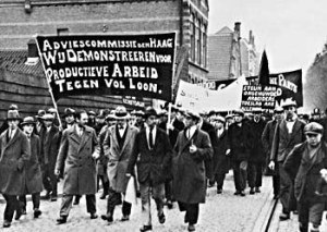 Demonstration in Holland 1931
