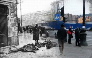 Leningrad und Heute