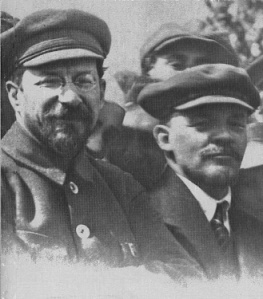 Lunatscharski_Lenin