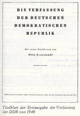 DDR-Verfassung 1949