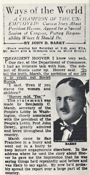 Interview Hoover
