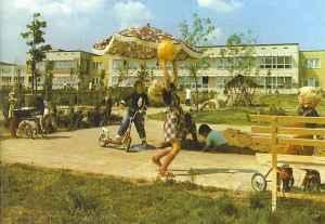 Kindergarten Wolfen DDR