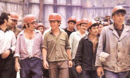 Sowjetische Arbeiter