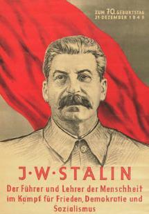 Stalinplakat