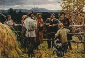 Lenin Bauern