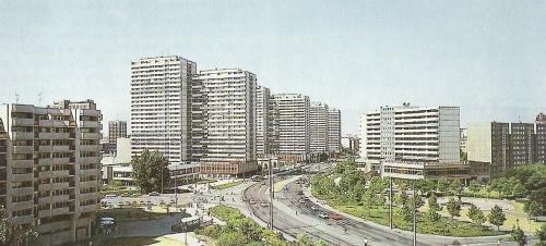 Wohngebiet DDR