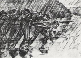 Zeichnung Henri Pieck