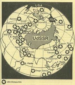 USA Stützpunkte