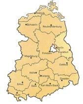 DDR Karte