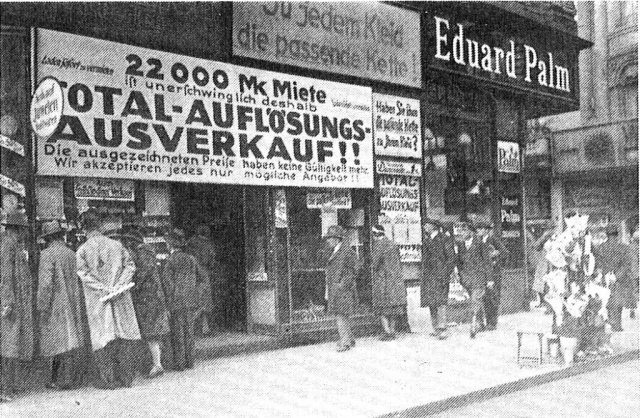 Inflation 1922