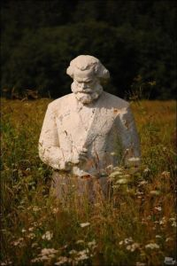 Marx in der Wiese