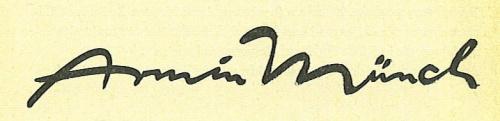 Schrift Münch