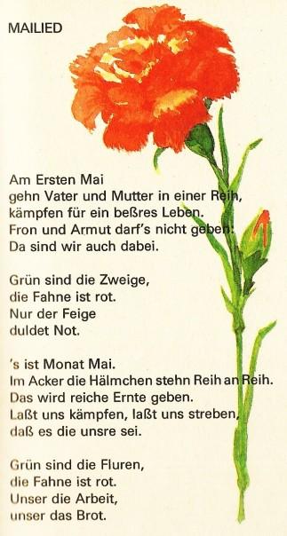 Brecht Mailied