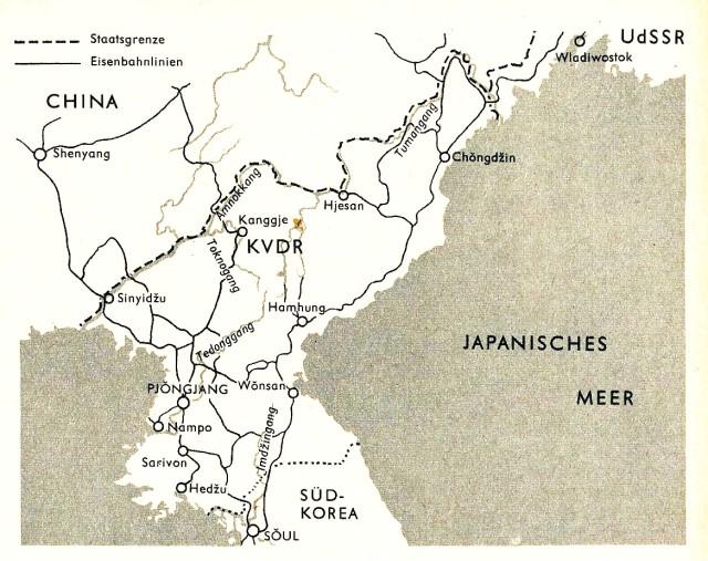 Karte KVDR