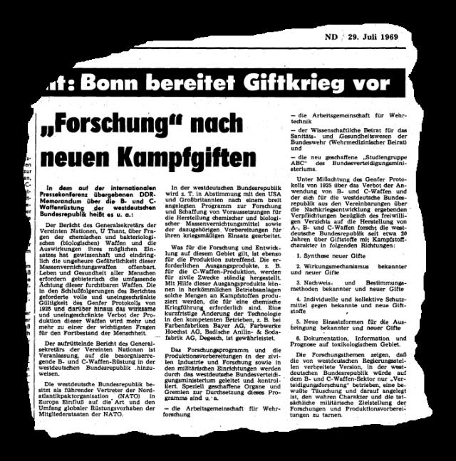 Giftkrieg 1969