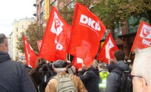 DKP demo Germany