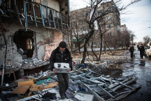 Railroad Hub Town Debaltseve Under Control Of Russian Separatist In Eastern Ukraine