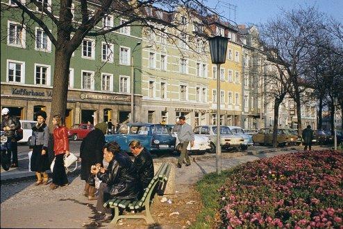 Берлин, Частичный вид торговой улицы