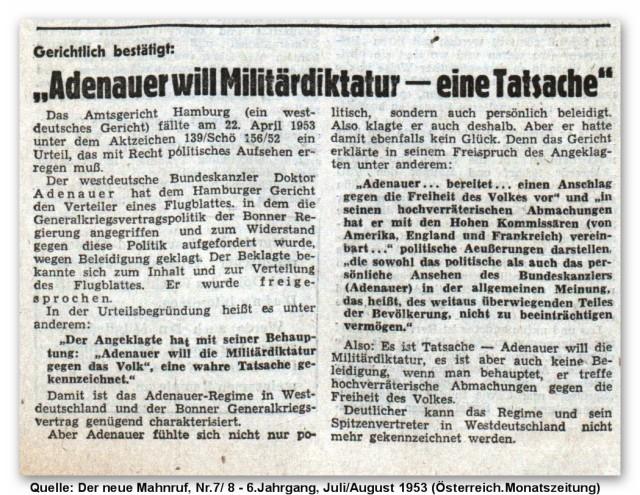 Mahnruf - Adenauer 1953.jpg
