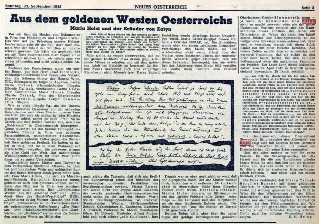 450923 Neues Österreich Katyn1