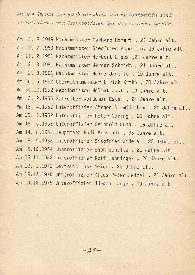 ermordete DDR-Grenzsoldaten