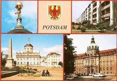 Postkarte Potsdam