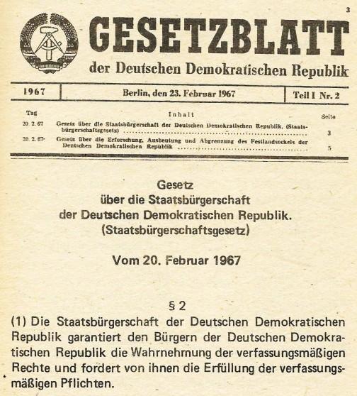 Gesetzblatt