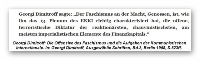 Dimitroff - Faschismus