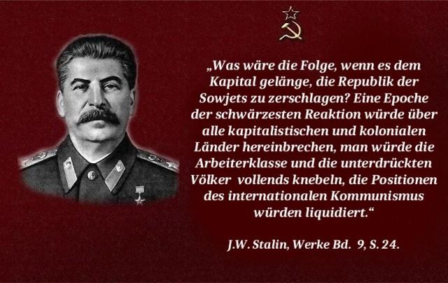 Stalin Reaktion