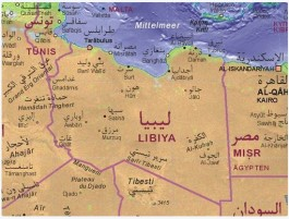 Libyenkarte