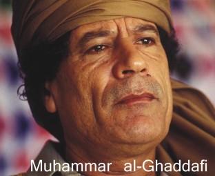 Oberst Muhammar Ghaddafi